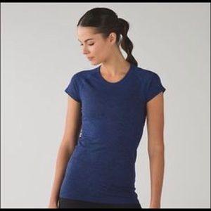 Dark blue women's Lululemon short sleeve